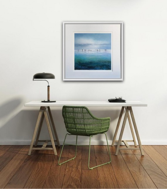 Interior design idea with art in your home or office