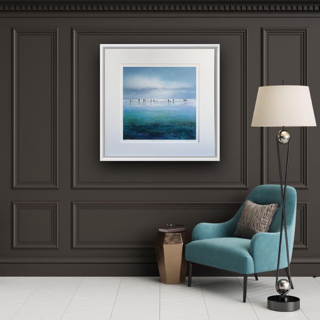 Living room design ideas with Art