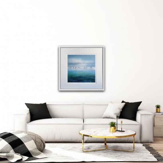 Michael Sanders Sparkling beach print for sale
