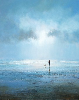 Walking the Dog limited edition print by Michael Sanders