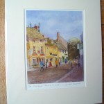 Church Street (2), Stow-on-the-Wold, Mounted Print