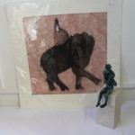 Kate Boxer, The Queen, Royal Art, Limited Edition Drypoint print, Regal Art 7