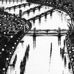Thames-Bridges-East-Etching-2015-61-x-46-cm-24-x-18-inch1 copy
