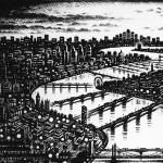 Thames-Bridges-East-Etching-2015-61-x-46-cm-24-x-18-inch1 copy 2