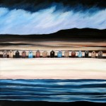 Anya Simmons-Beach Hut Heaven 6-Open Print-Wychwood Art
