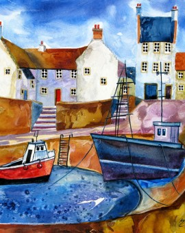 Anya Simmons-Beautiful Crail-Open Print-Wychwood Art