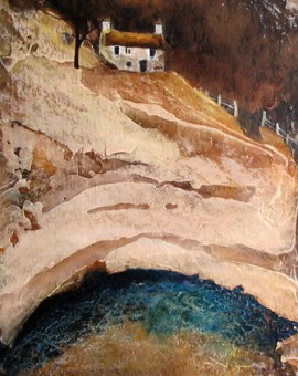 Anya Simmons-Blue Lagoon-Open Print-Wychwood Art