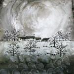 Anya Simmons-Boulder Ridge Cottages-Open Print-Wychwood Art