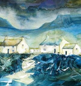 Anya Simmons-Caernarvon Cove-Limited Edition Print-Wychwood Art