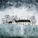 Anya Simmons-Farmhouse Cottages-Open Print-Wychwood Art