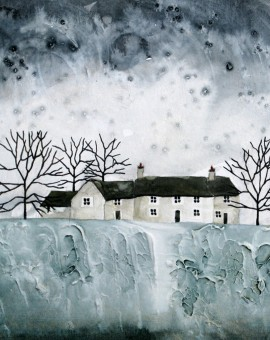 Anya Simmons-Farmhouse Cottages-Open Print-Wychwood Art