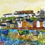Anya Simmons-Fowey Harbour-Open Print-Wychwood Art