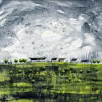 Anya Simmons-Green Field Cottages-Open Print-Wychwood Art