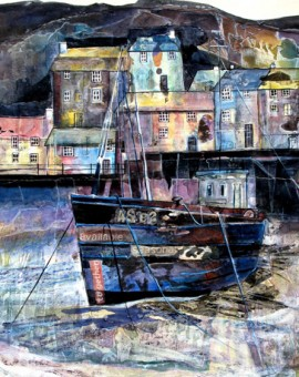 Anya Simmons-Harbour Mews-Open Print-Wychwood Art
