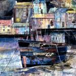 Anya Simmons-Harbour Mews-Open Print-Wychwood Art