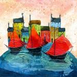 Anya Simmons-Homeward Bound 3-Open Print-Wychwood Art