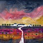 Anya Simmons-Lavender Ridge-Open Print-Wychwood Art