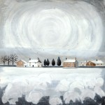 Anya Simmons-Littondale in the Snow-Open Print-Wychwood Art