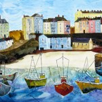 Anya Simmons-Magical Tenby-Limited Edition  Print-Wychwood Art