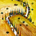 Anya Simmons-Magical Tuscany-Open Print-Wychwood Art