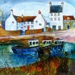 Anya Simmons-Memories of Crail-Open Print-Wychwood Art
