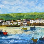 Anya Simmons-Mousehole Cornwall-Limited Edition Print-Wychwood Art