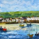 Anya Simmons-Mousehole Cornwall-Limited Edition Print-Wychwood Art