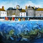 Anya Simmons-Mousehole-Original-Wychwood Art