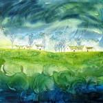 Anya Simmons-Peridot Blossom-Limited Edition Print-Wychwood Art