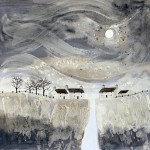 Anya Simmons-Porthclais Cottages-Open Print-Wychwood Art