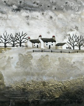Anya Simmons-Silver Ways Farm-Open Print-Wychwood Art