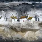 Anya Simmons-The Dragons Teeth-Open Print-Wychwood Art
