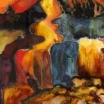 Anya Simmons-The Pathway Home-Open Print-Wychwood Art