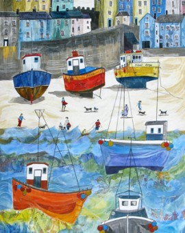 Anya Simmons-The Tenby Experience 2-Limited Edition Print-Wychwood Art