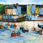 Anya Simmons-Turning Tide Tenby-Open Print-Wychwood Art