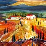 Anya Simmons-Tuscany-Open Print-Wychwood Art