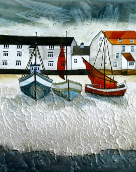 Anya Simmons-Woodbridge Tide Mill-Open Print-Wychwood Art