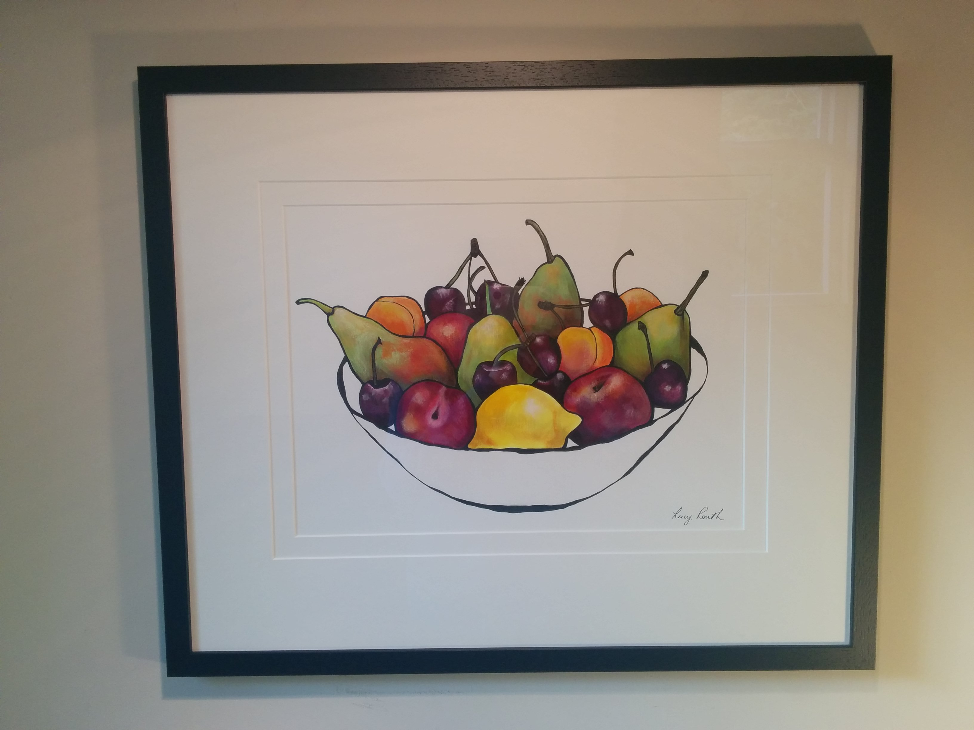 Lucy routh still life fruit painting buy affordable for Buy affordable art online