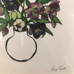 Small Vase of Hellebores, Lucy Routh 4