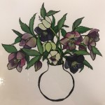 Small Vase of Hellebores, Lucy Routh 6
