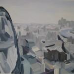 044 Sarah Aams The Gherkin from the Leadenhall Building Wychwood Art