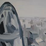044-Sarah-Aams-The-Gherkin-from-the-Leadenhall-Building-Wychwood-Art copy 2