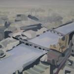 045 Sarah Adams Big Ben painting Wychwood Art