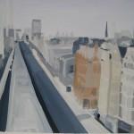 048 Sarah Adams Oxford Street from the John Lewis roof top Wychwood Art