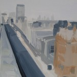 048-Sarah-Adams-Oxford-Street-from-the-John-Lewis-roof-top-Wychwood-Art copy 7