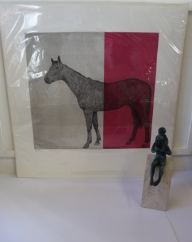 Guy Allen, Horse, Limited Edition Print, Horse Art, Animal Art 5