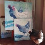 Sharon Williams Agnes Bluebelle studio shot
