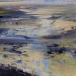 James Tatum, River Exe, Original Seascape, River Exmouth Art, Devon Art, Contemporary Abstract Art 2