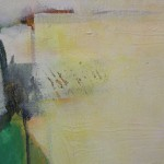 Jon Rowland, Green Abstract Art 2