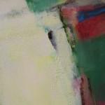 Jon Rowland, Green Abstract Art 3